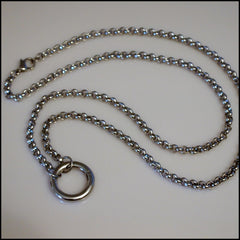 Silver Rolo Chain for Living Locket - Find Something Special