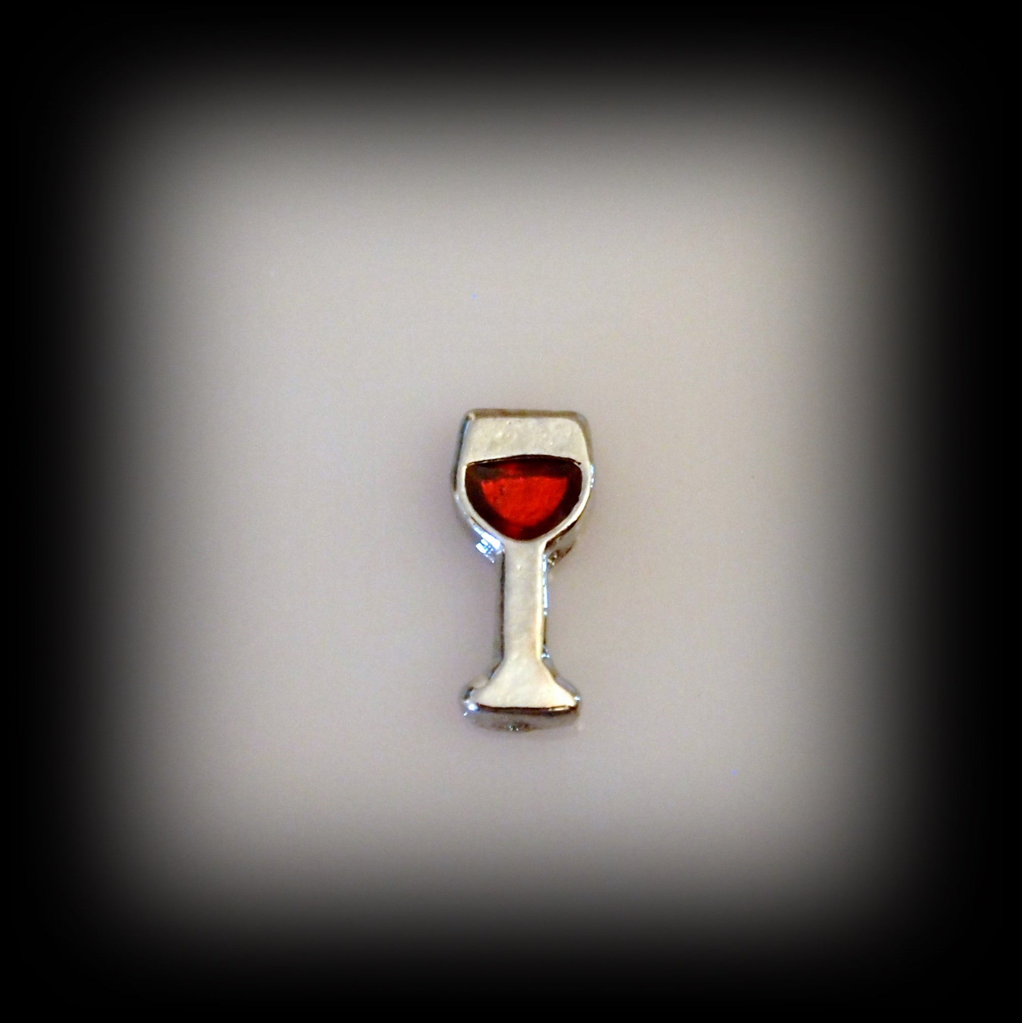 Wine Glass Floating Charm - Find Something Special - 1