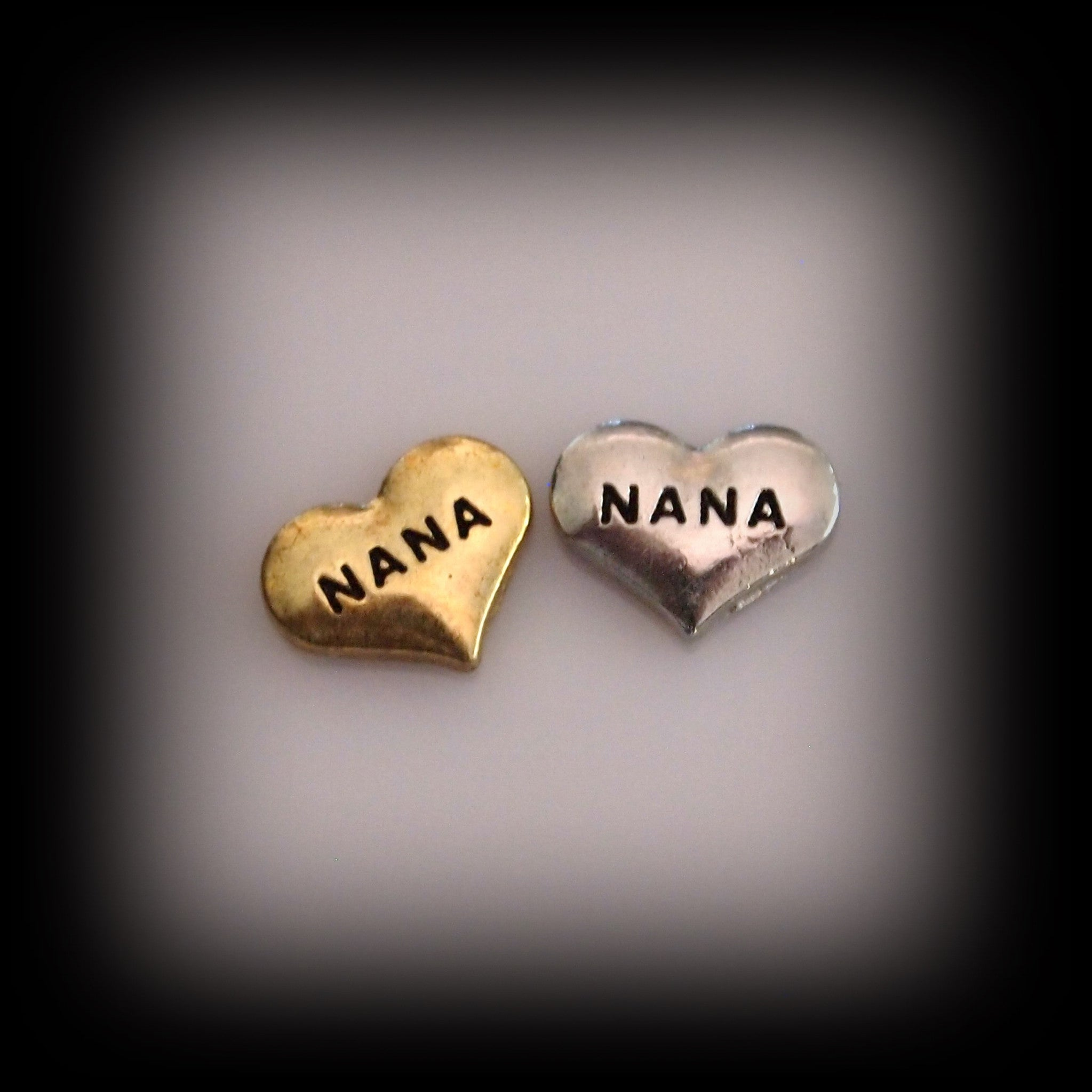 Nana Heart Floating Charm - Find Something Special