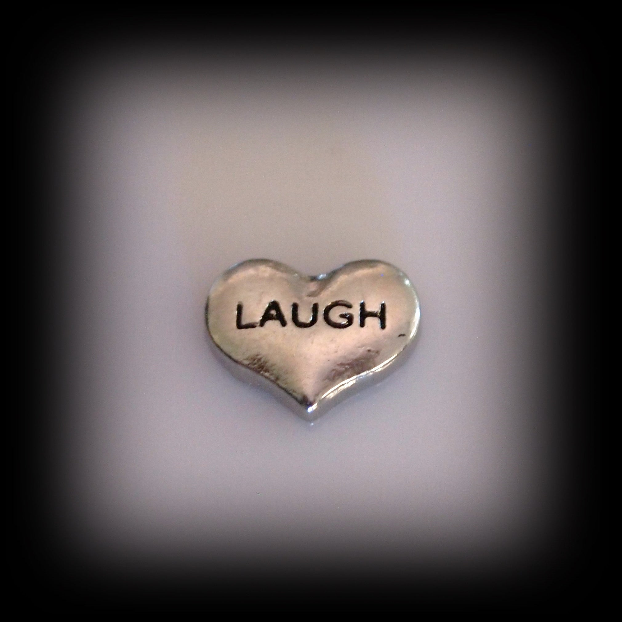 Laugh Heart Floating Charm - Find Something Special - 1
