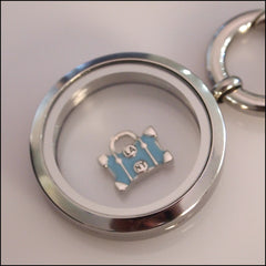 LA NY Luggage Floating Charm - Find Something Special - 2