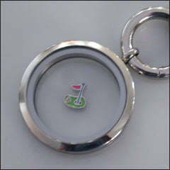 Golf Floating Charm - Find Something Special
