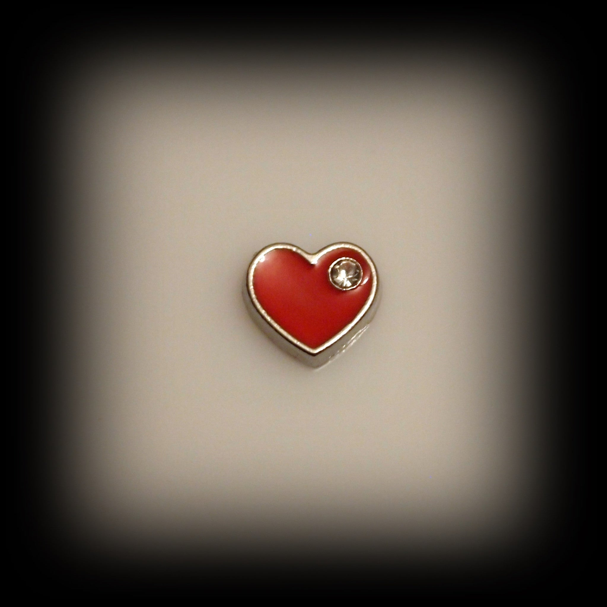Red Heart Floating Charm - Find Something Special