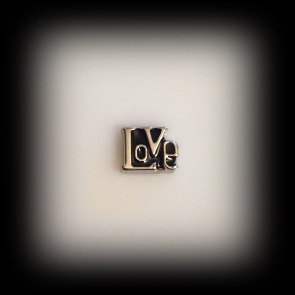 """Love"" Floating Charm"