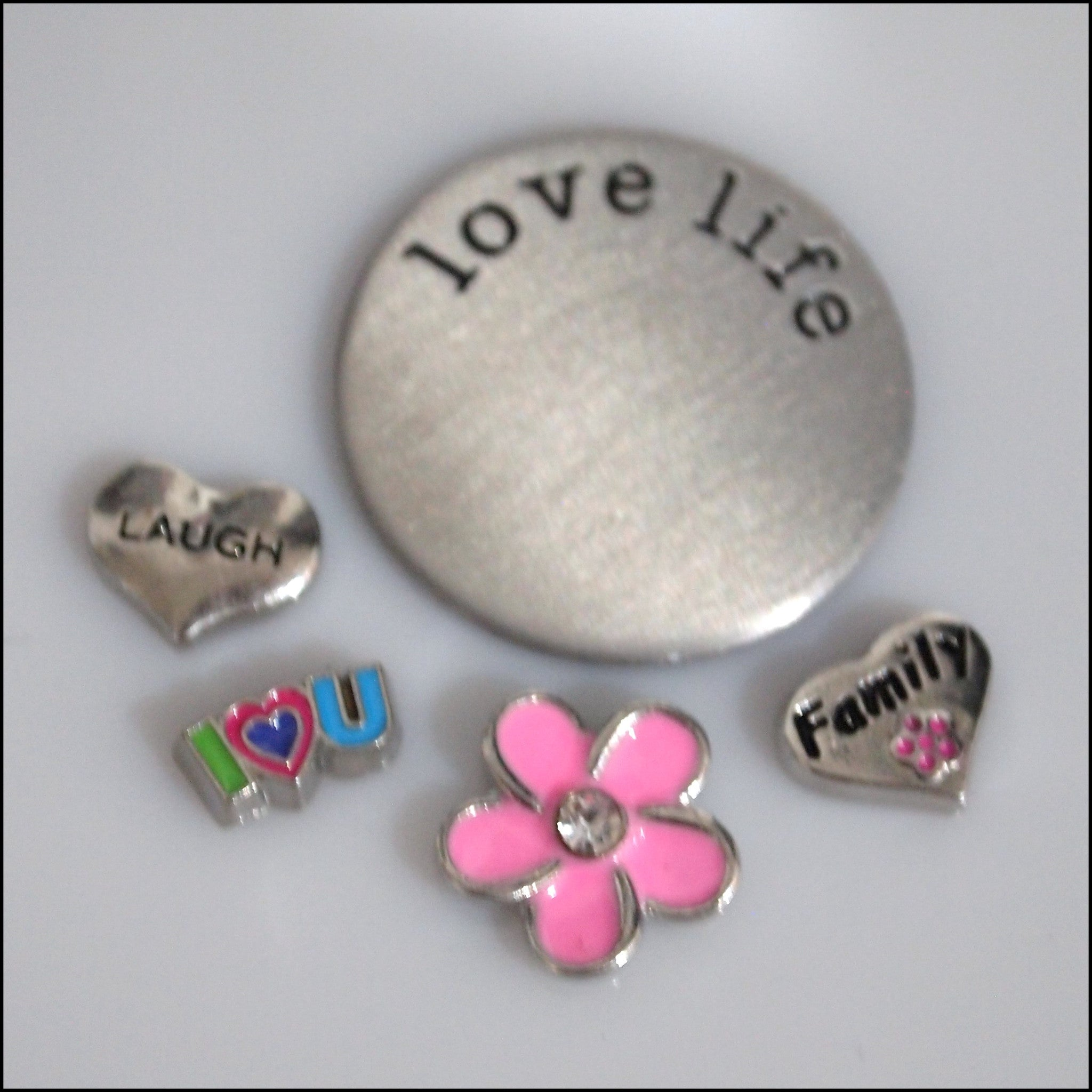 Family Floating Charm Set - Find Something Special