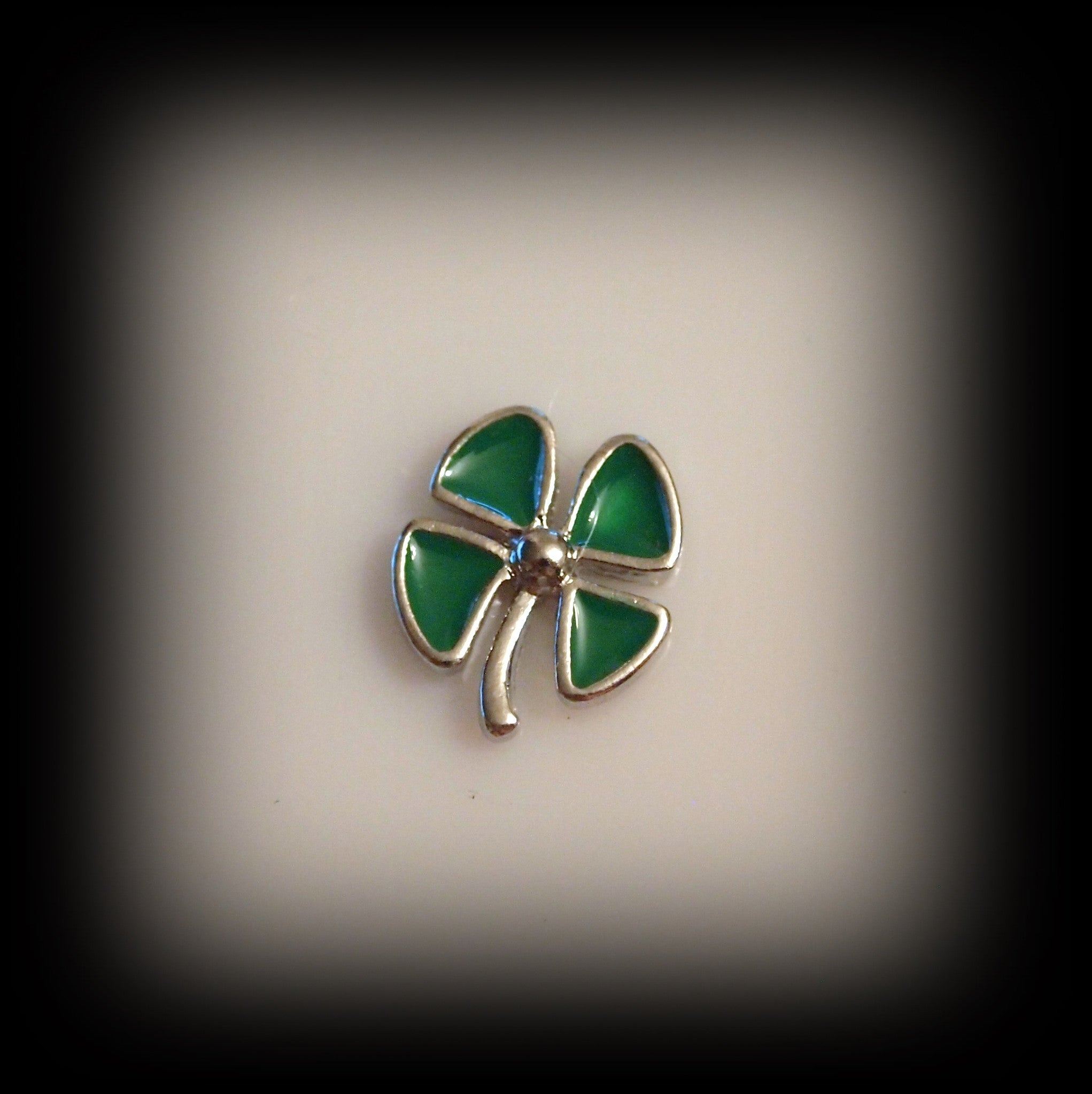 Four Leaf Clover Floating Charm - Find Something Special