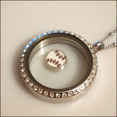 Baseball Floating Charm - Find Something Special
