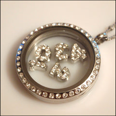 Number Floating Charm - Find Something Special - 3