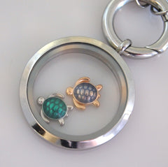 Turtle Floating Charm - Find Something Special - 2