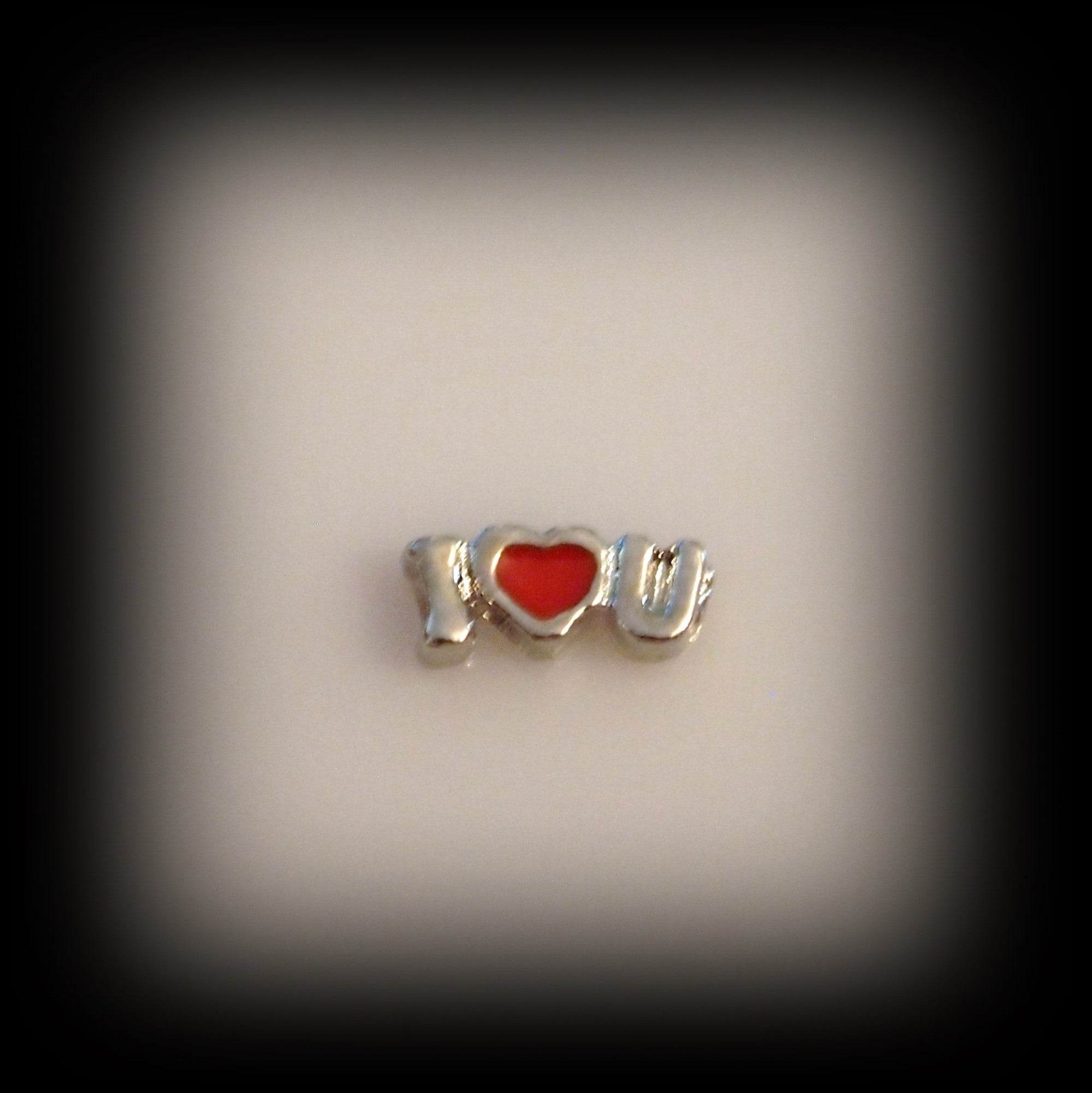 "I ""Heart"" U Floating Charm - Find Something Special"