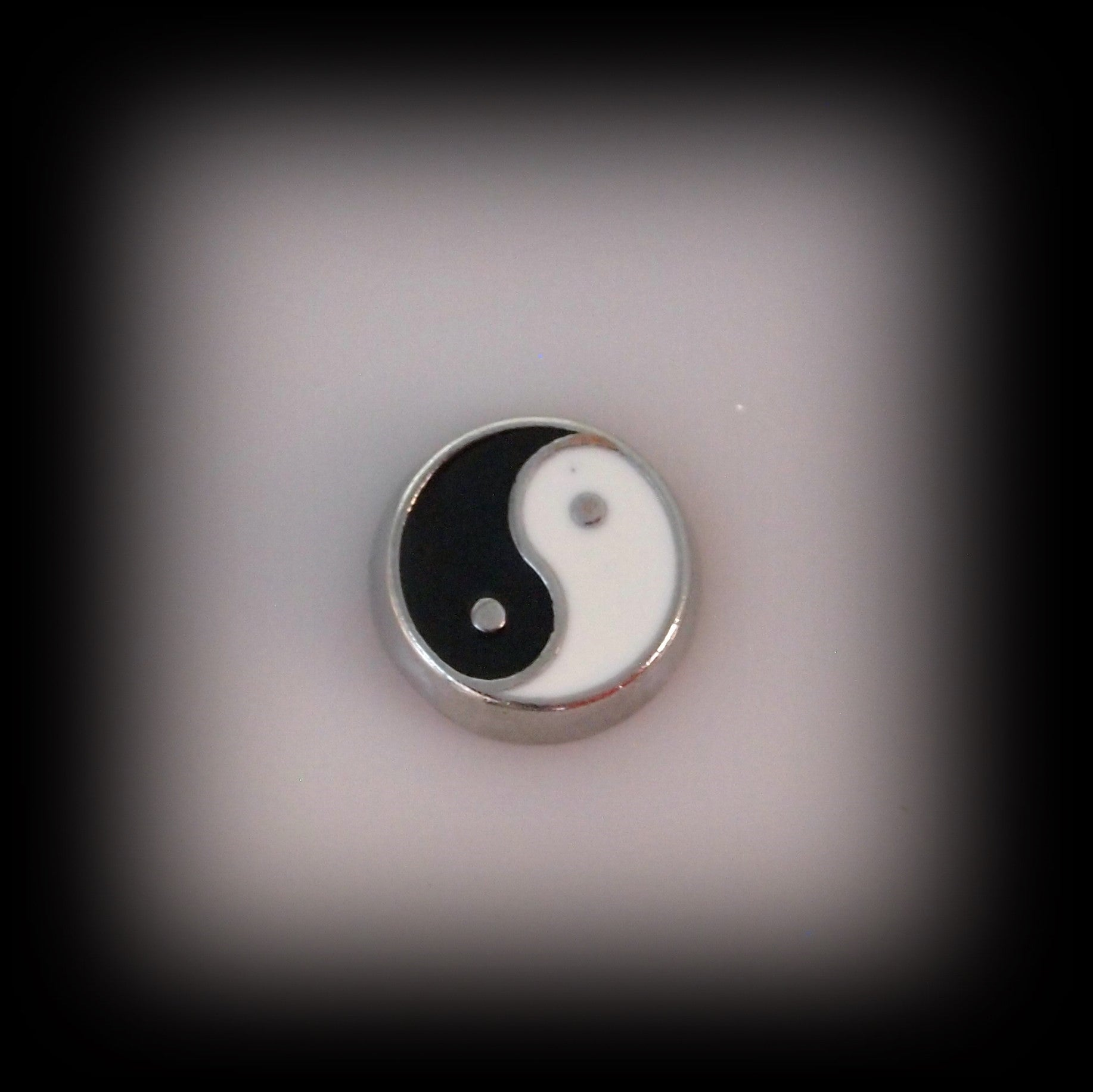 Yin Yang Floating Charm - Find Something Special - 1