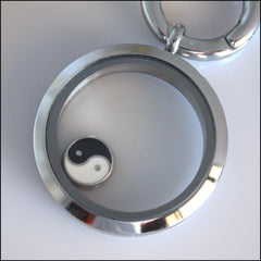 Yin Yang Floating Charm - Find Something Special - 2