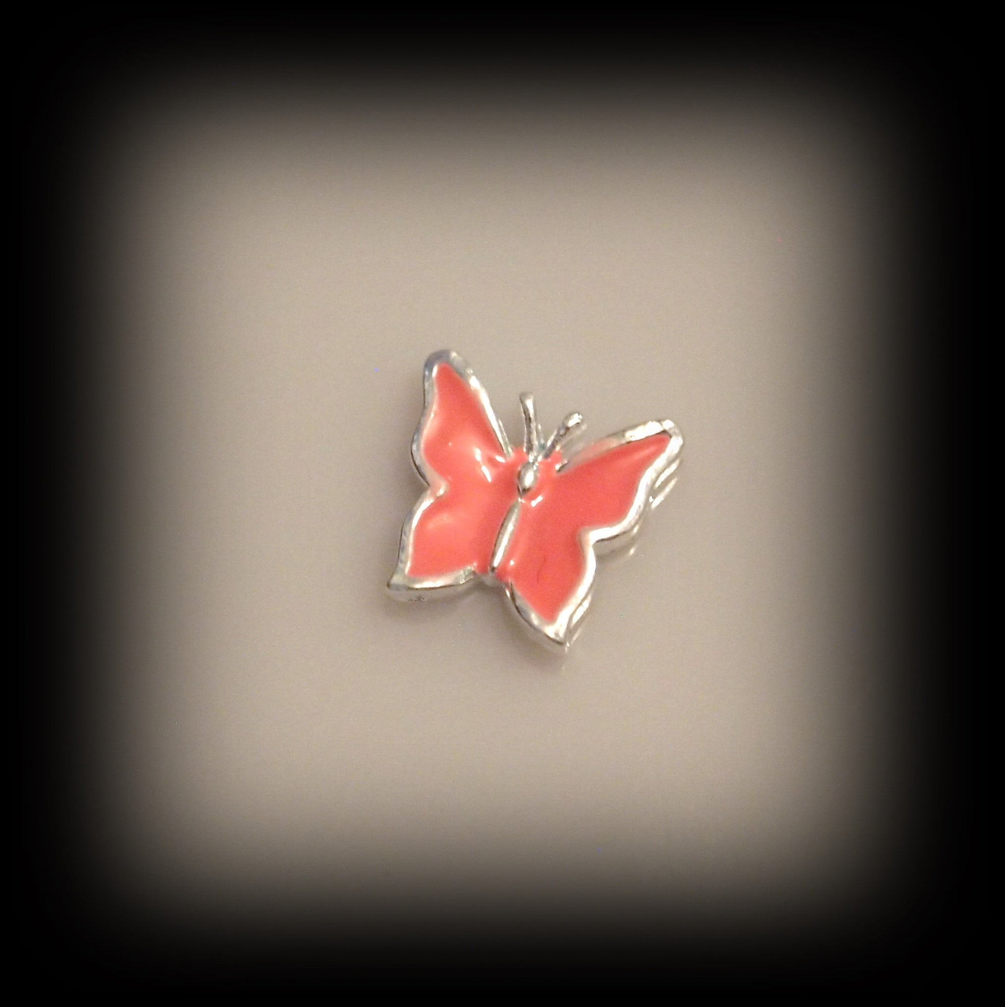 Light Pink Butterfly Floating Charm - Find Something Special - 1