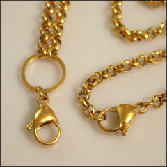Gold Rolo Chain for Living Locket - Find Something Special