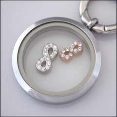 Infinity Floating Charm - Find Something Special - 2