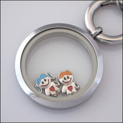 Happy Kid Floating Charm - Find Something Special