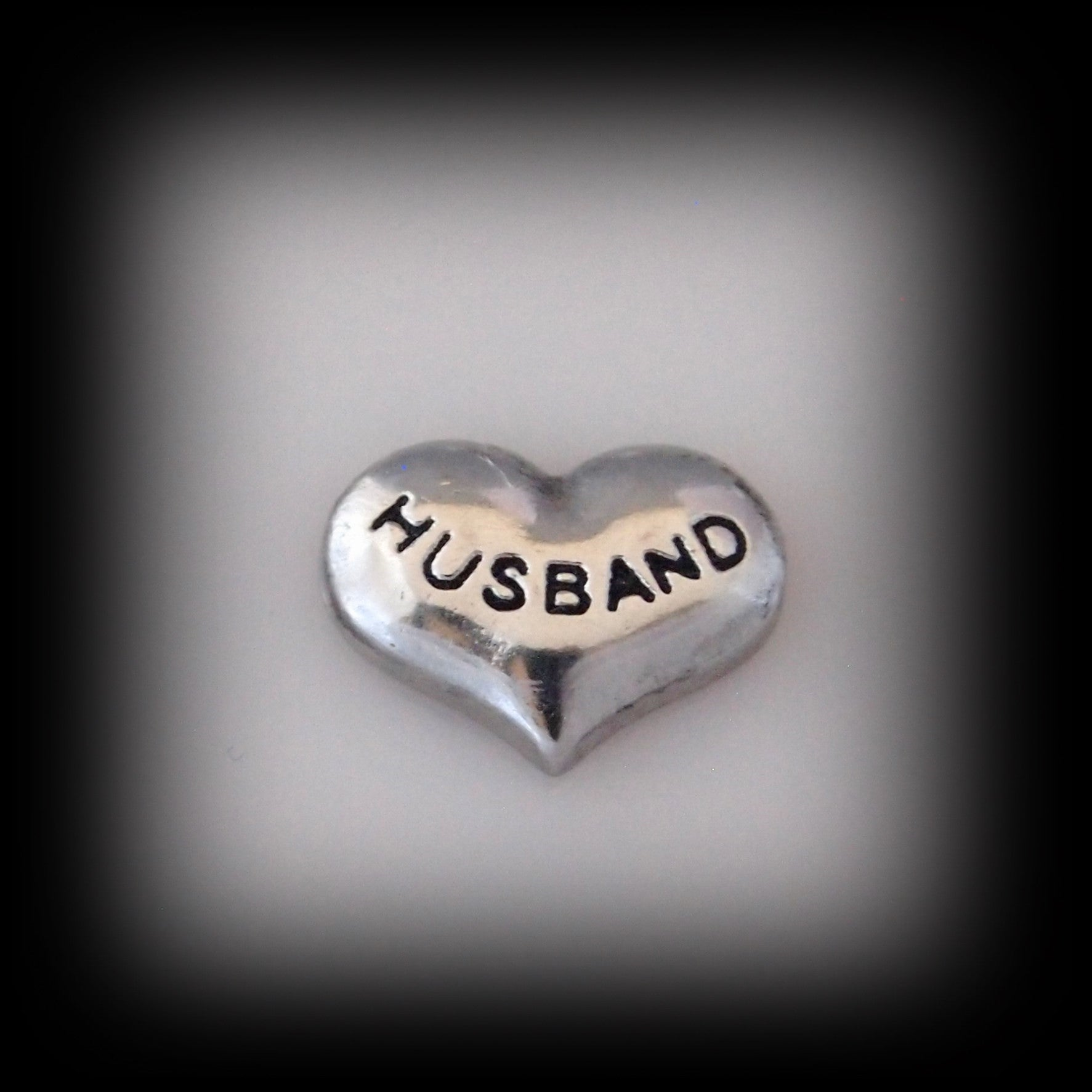 """Husband"" Floating Charm - Find Something Special"