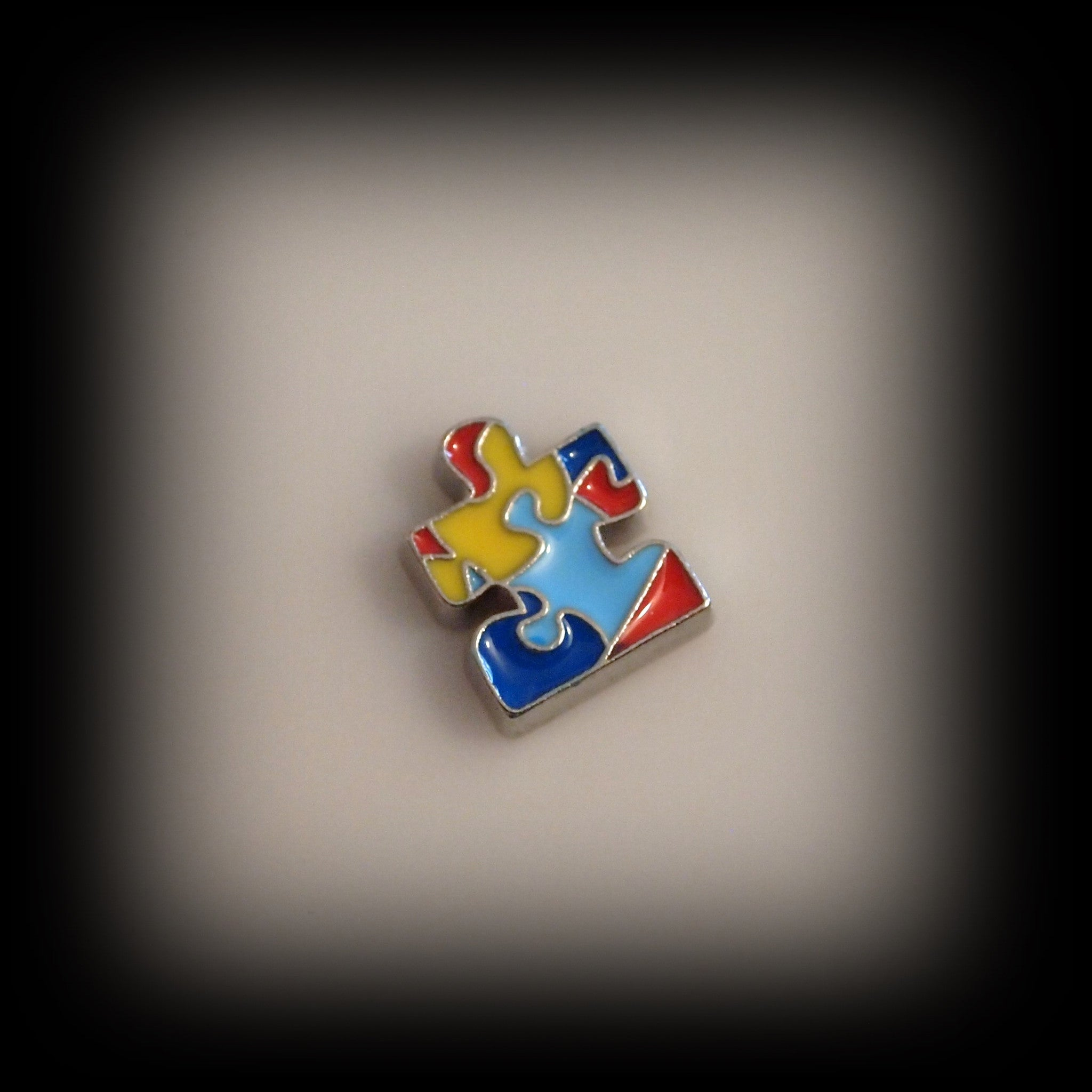 Autism Awareness Floating Charm - Find Something Special