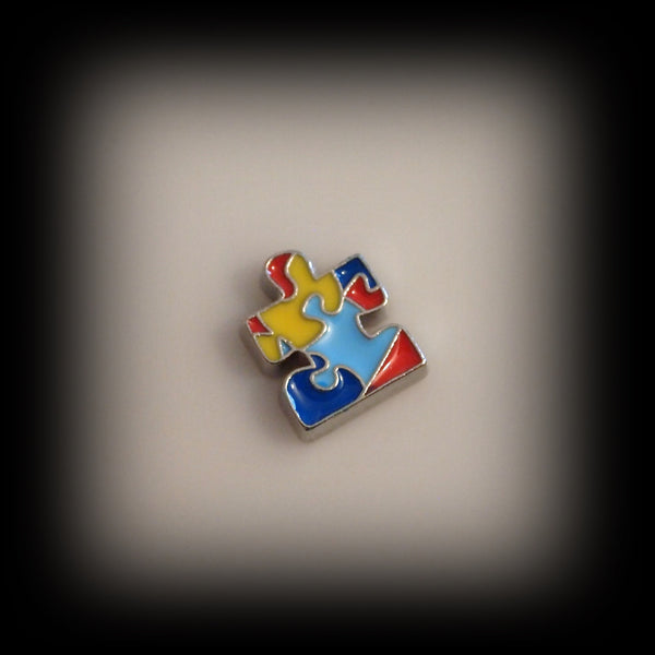 Autism Awareness Floating Charm