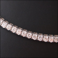 Cubic Zirconia Snake Necklace - Find Something Special - 2