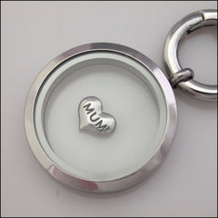 Mum Heart Floating Charm - Find Something Special