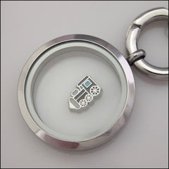 Train Floating Charm - Find Something Special - 2
