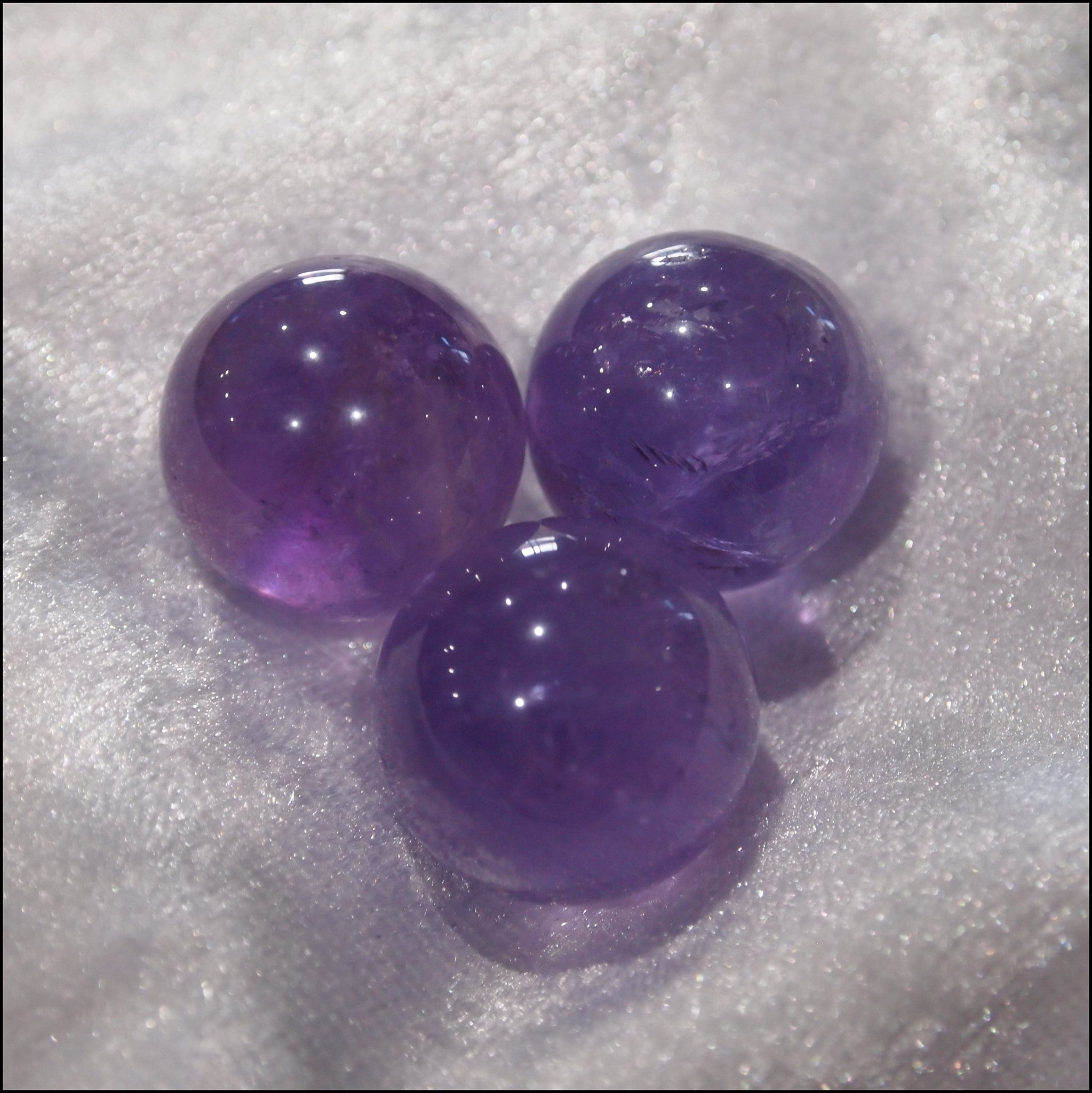 Natural Purple Amethyst Inner Ball for Harmony Ball Necklace - Find Something Special