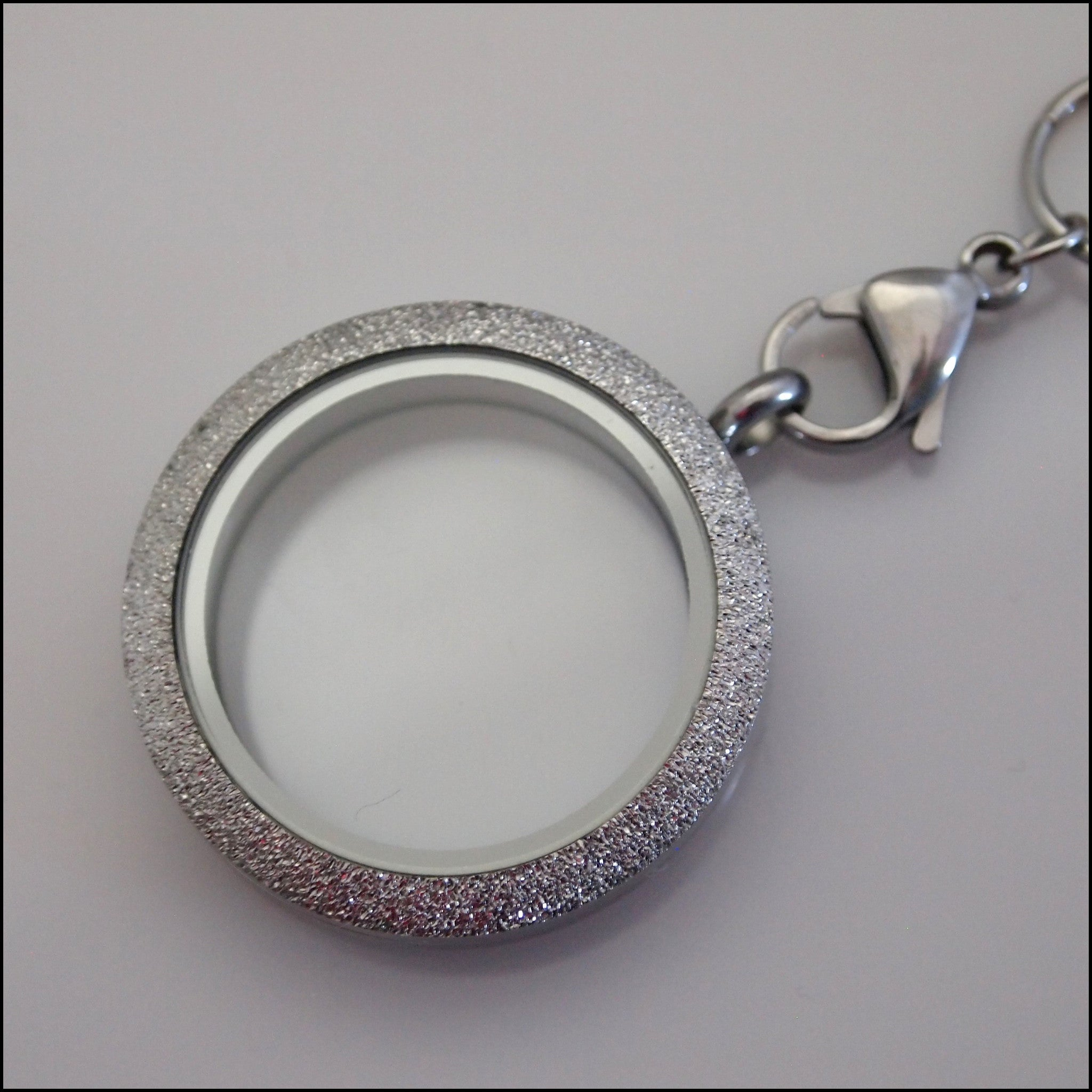 Silver Sparkle Living Locket - Find Something Special