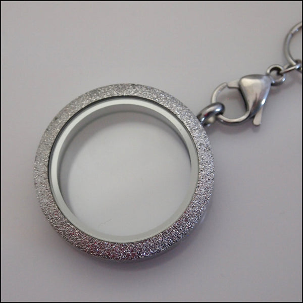 Silver Sparkle Living Locket
