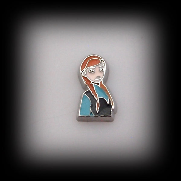 Anna Floating Charm