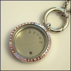 Living Locket Silver Plate - Words - Find Something Special