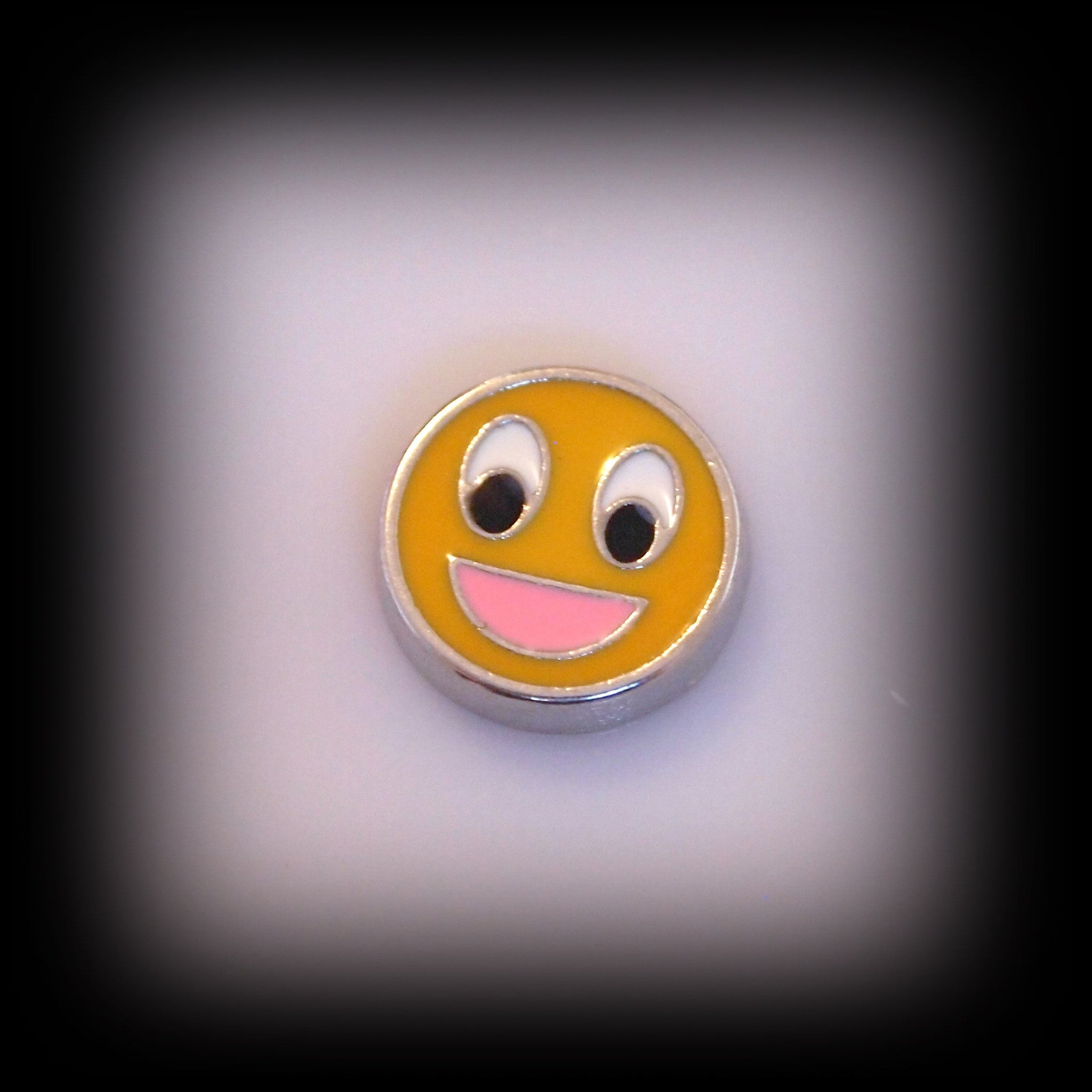 Smiley Face Floating Charm - Find Something Special