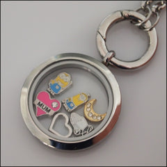 "Pink ""Mum"" Floating Charm - Find Something Special"