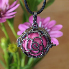 Gunmetal Treasured Rose Harmony Ball - 20mm - Find Something Special