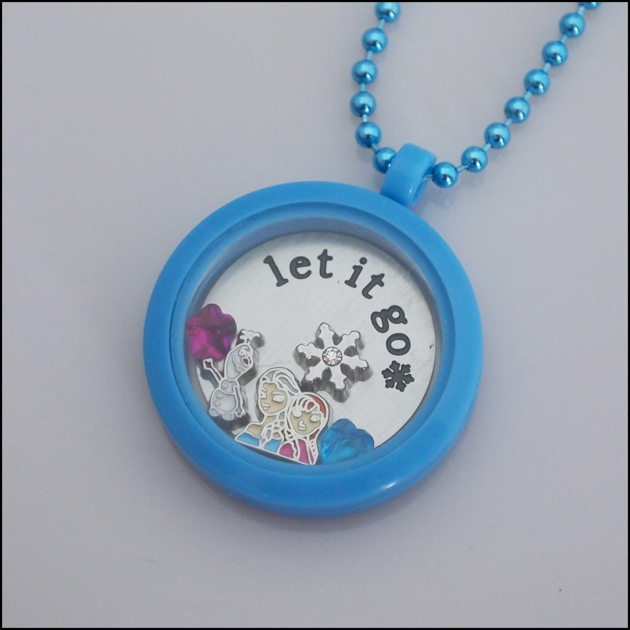 Acrylic Magnetic Living Locket - Special Edition Frozen Theme - Find Something Special