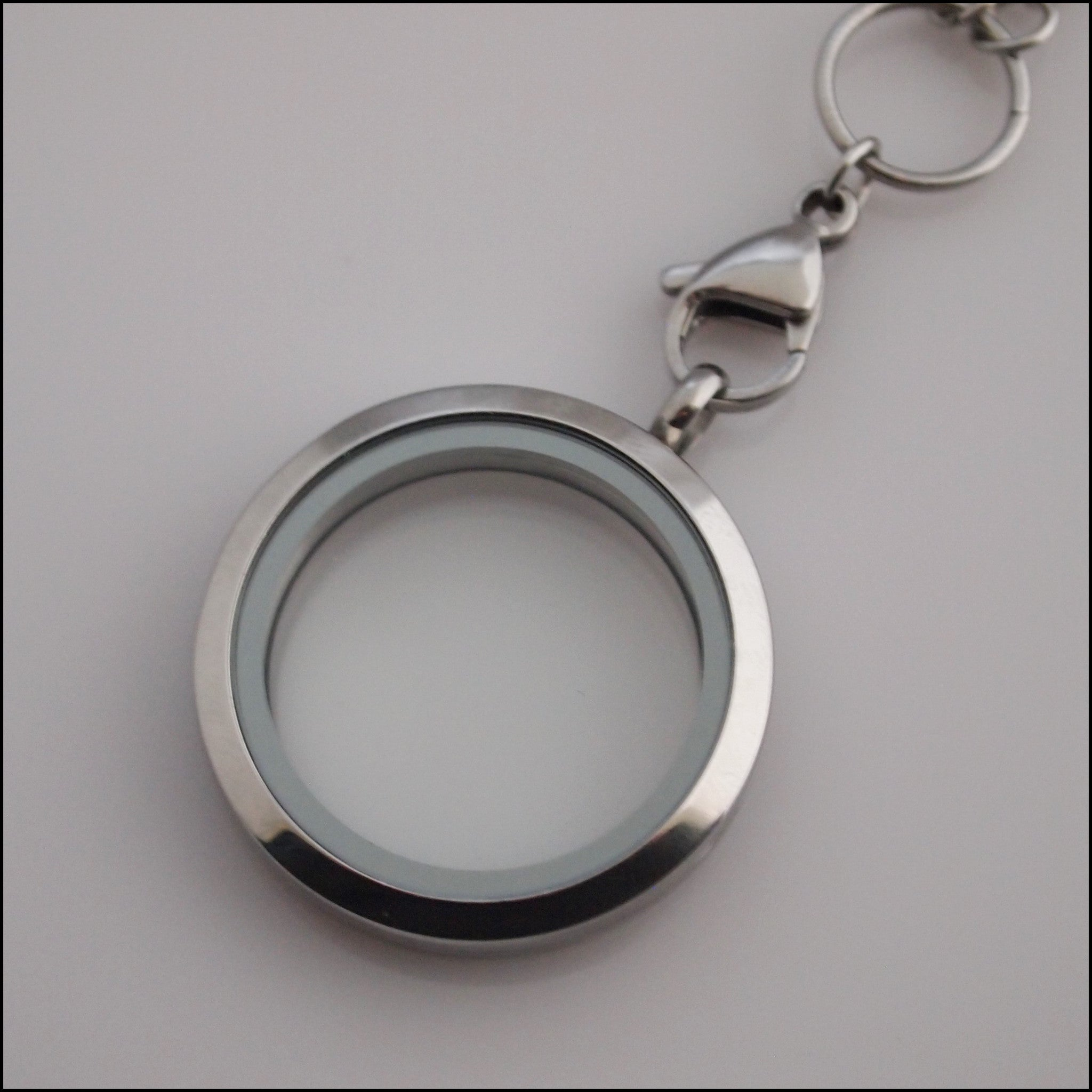 Silver Living Locket - Find Something Special