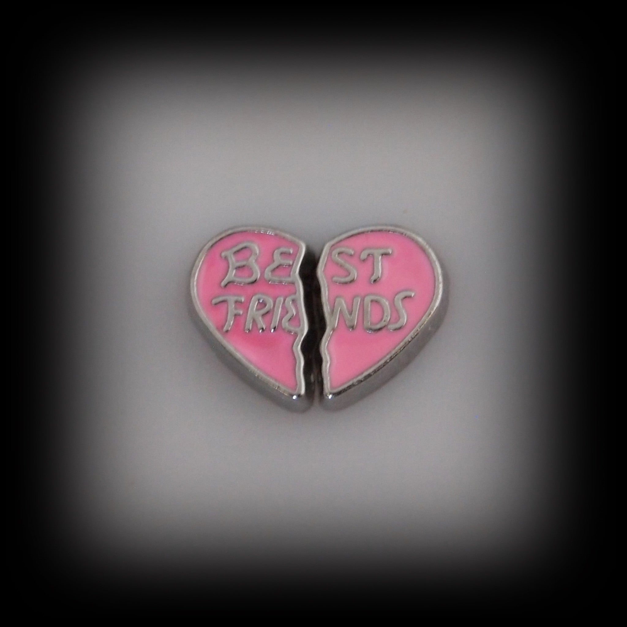 Best Friends Set of 2 Floating Charms - Find Something Special