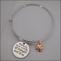 Expandable Bangle - Family Circle - Find Something Special