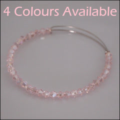 Expandable Crystal Beaded Bangle - Find Something Special