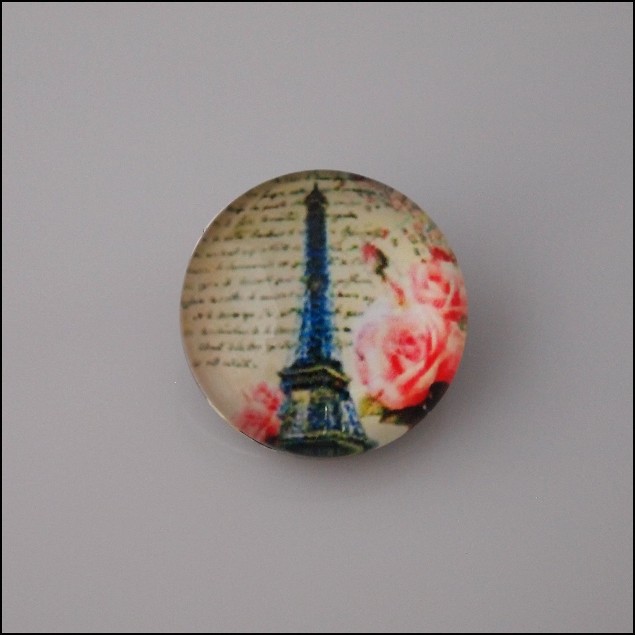 Eiffel Tower Snap Button - Find Something Special