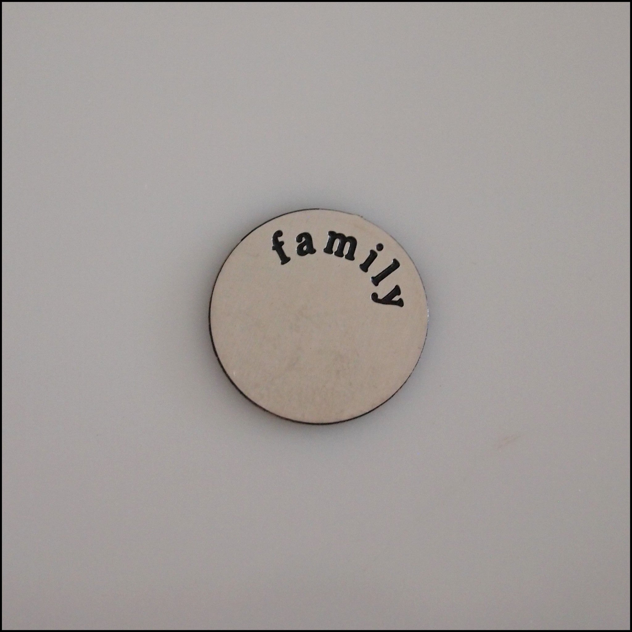 Mini Family Silver Plate - Find Something Special