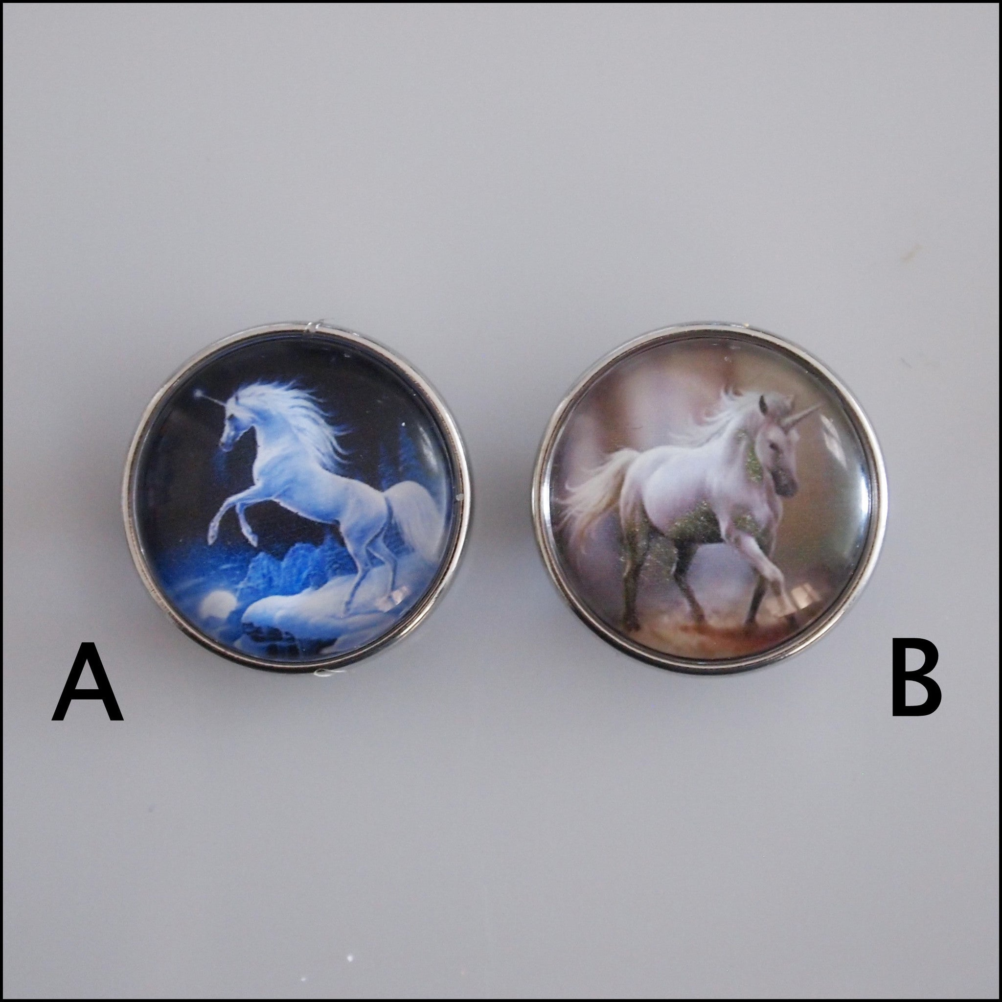 Unicorn Snap Button - Find Something Special