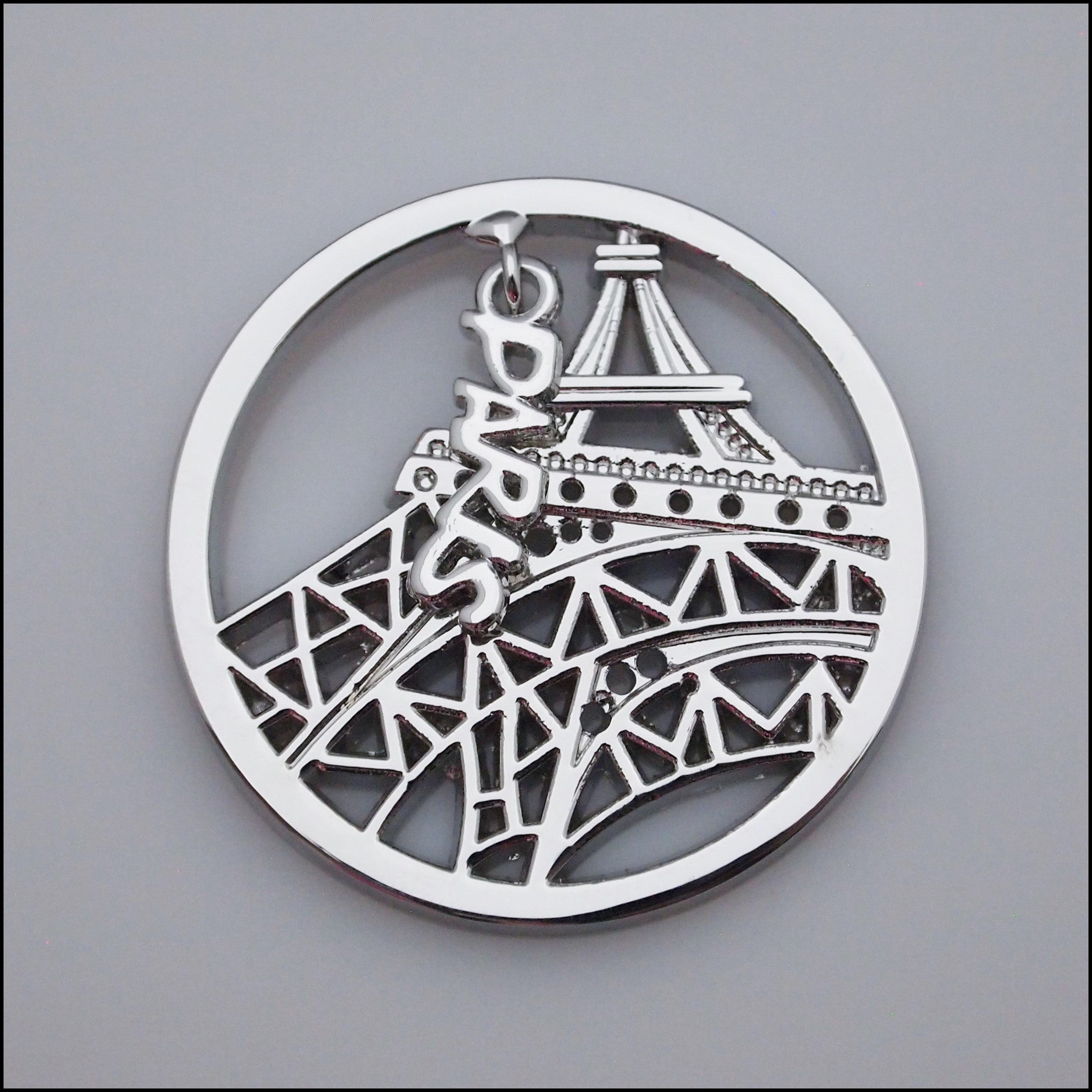 Coin for Coin Pendant - Paris Silver - Find Something Special