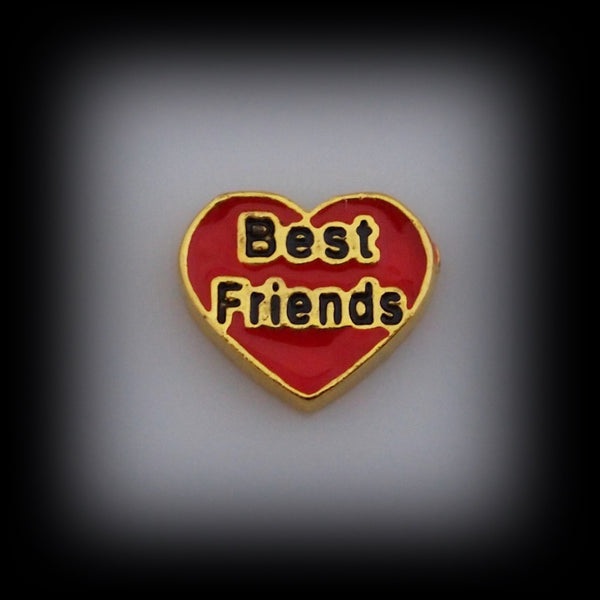 Best Friend Floating Charm