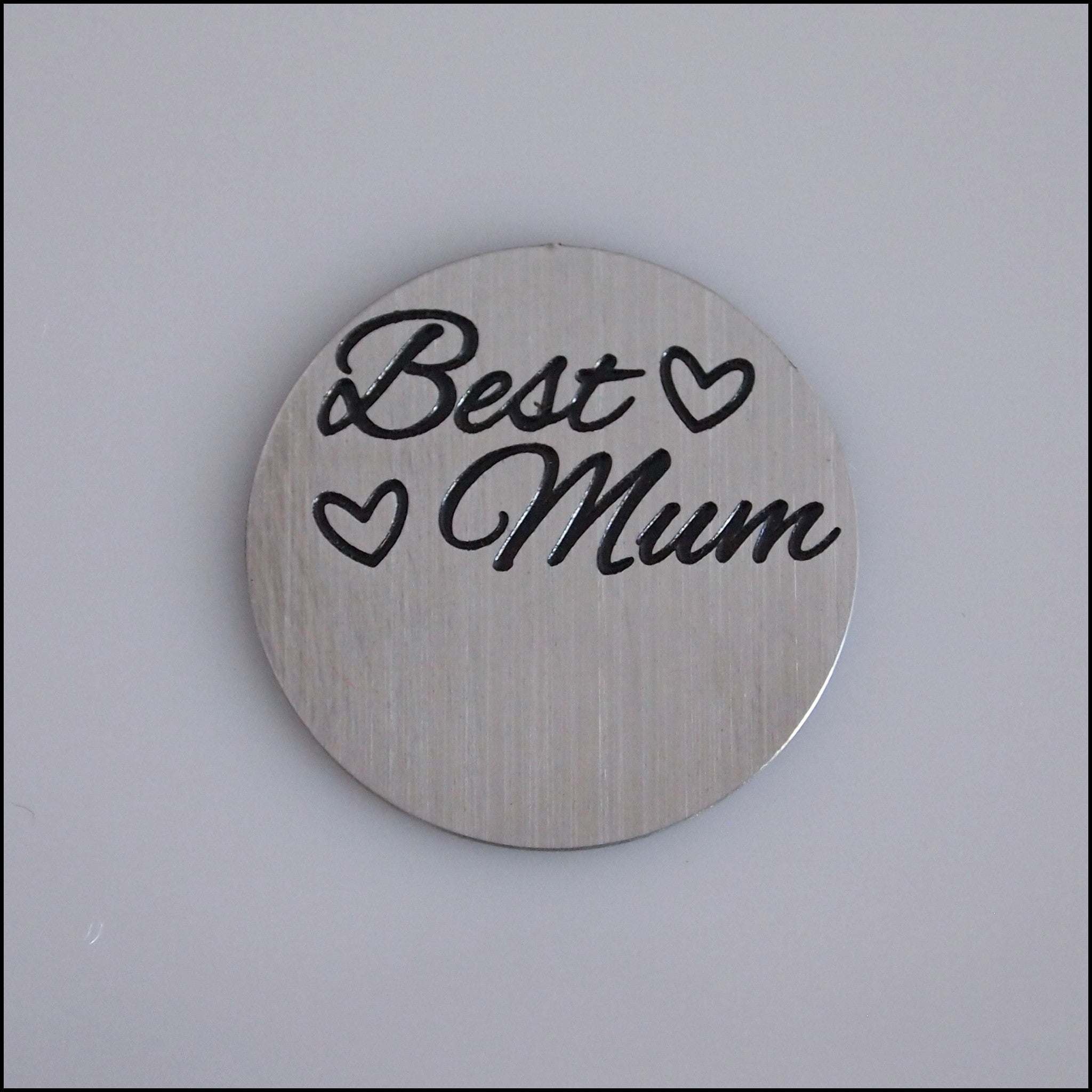 Locket Plate - Best Mum