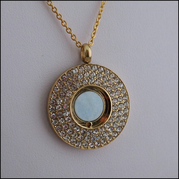 Magnetic Coin Pendant - Gold
