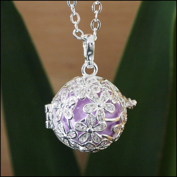 Crystal Flowers Harmony Ball - 20mm