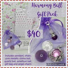 Silver Harmony Ball Gift Pack