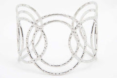 Silver Circles Cuff - Find Something Special