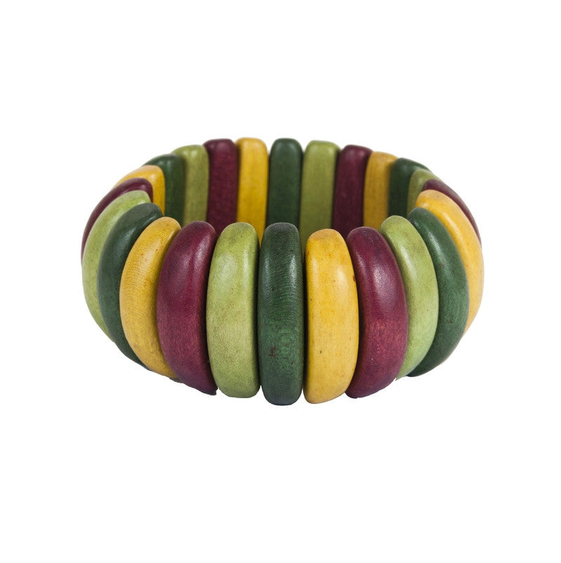 Wood Elastic Garden Bracelet - Find Something Special
